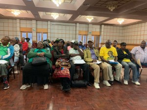 ANC Veterans League workshop